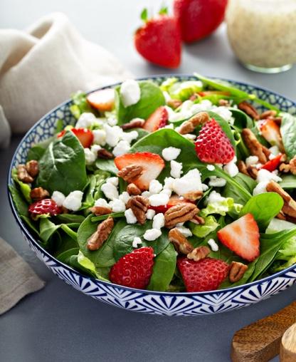 6. Salada Espinafres e Frutos Vermelhos