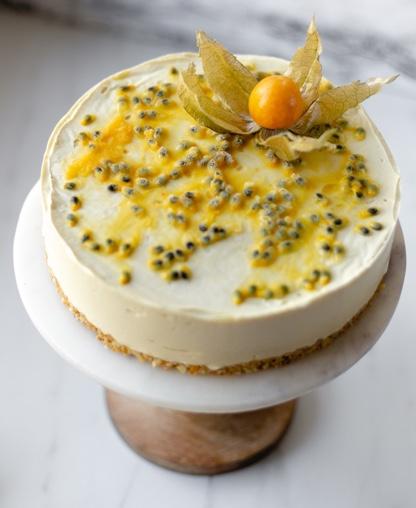 8. Cheesecake de Physalis