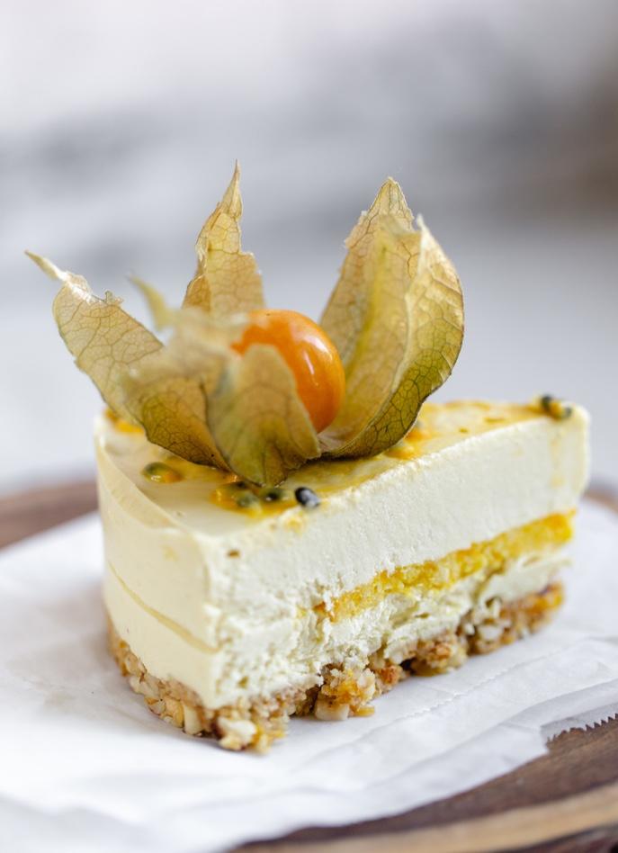 Cheesecake de Physalis 3