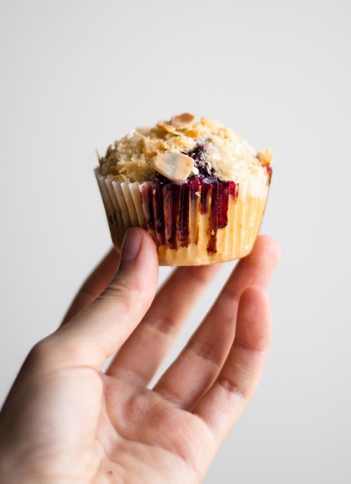 Muffin de Amora e Banana 3