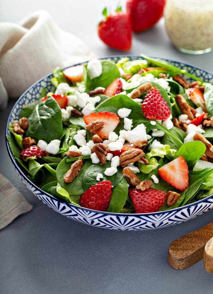 Salada Espinafres e Frutos Vermelhos 2